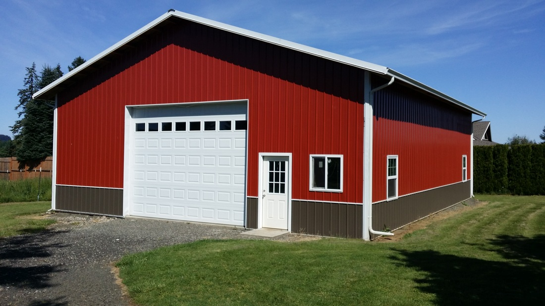 Pole barns oregon oregons top pole barn building company for Pole barn plans pdf